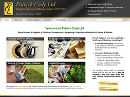 Patrick Cody Ltd - Timber Product Manufacturer, Bed and Furniture Components; Garden Products