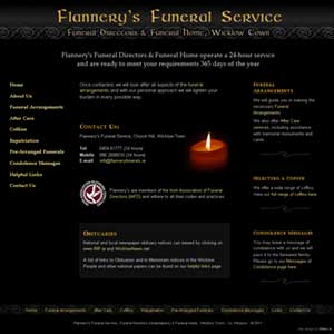 Flannerys Funeral Service - Funeral Directors and Funeral Home, Wicklow Town