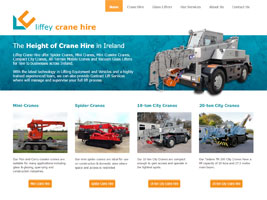 visit Liffey Crane Hire - Mini Crane Hire and Glass Lifter Hire across Ireland