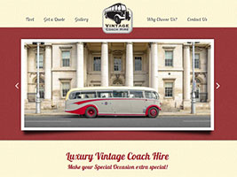 Vintage Coach Hire for Weddings and Events